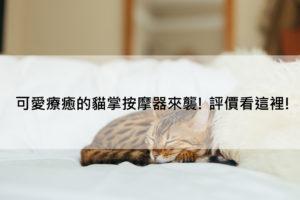 貓掌按摩器評價